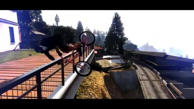 GTA 5 Incredible BMX Stunt Montage!