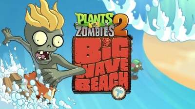 Plants vs. Zombies 2 - Big Wave Beach Part 1