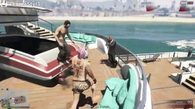 Grand Theft Auto 5 - Thug Life и Забавные моменты (Победы, Трюки и Неудачи #52)