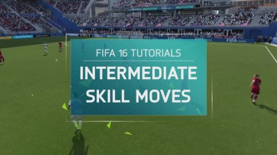 FIFA 16 Tutorial - Intermediate Skill Moves - Stand Fake Pass, Heel Flick Turn, Simple Rainbow
