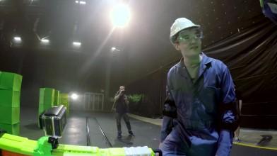 Space Invaders в реальной жизни - эксперименты