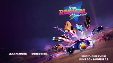"Rocket League - трейлер ""Radical Summer"""