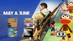 PlayStation Now - May & June 2018 Update