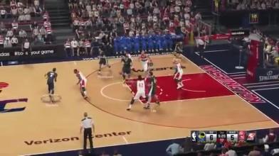 "NBA 2K15 ""Геймплей Warriors vs Wizards"""