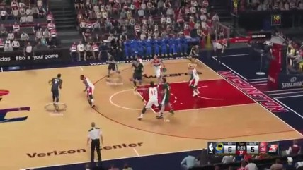 "NBA 2K15 ""Геймплей Warriors vs Wizards"""