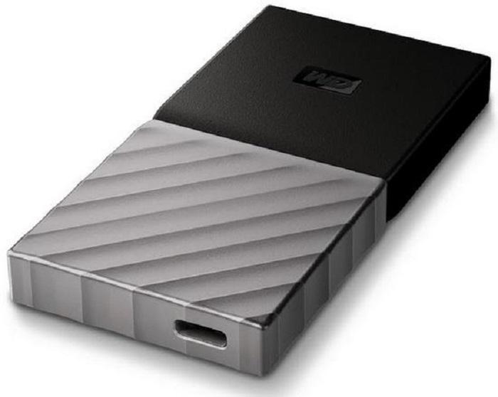 Компания Western Digital представила свой 1-ый портативный SSD