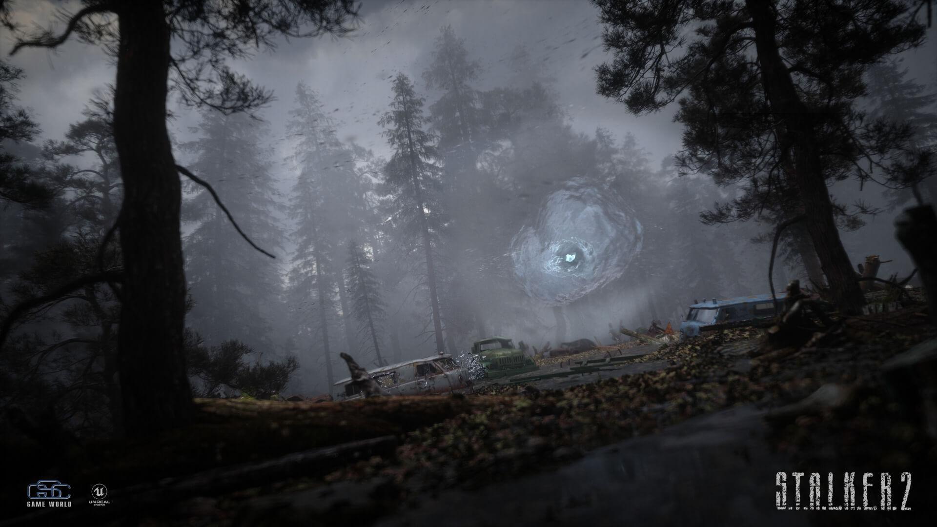 STALKER 2 - Официальный скриншот на Unreal Engine 4 против фанатского ремейка на CRYENGINE