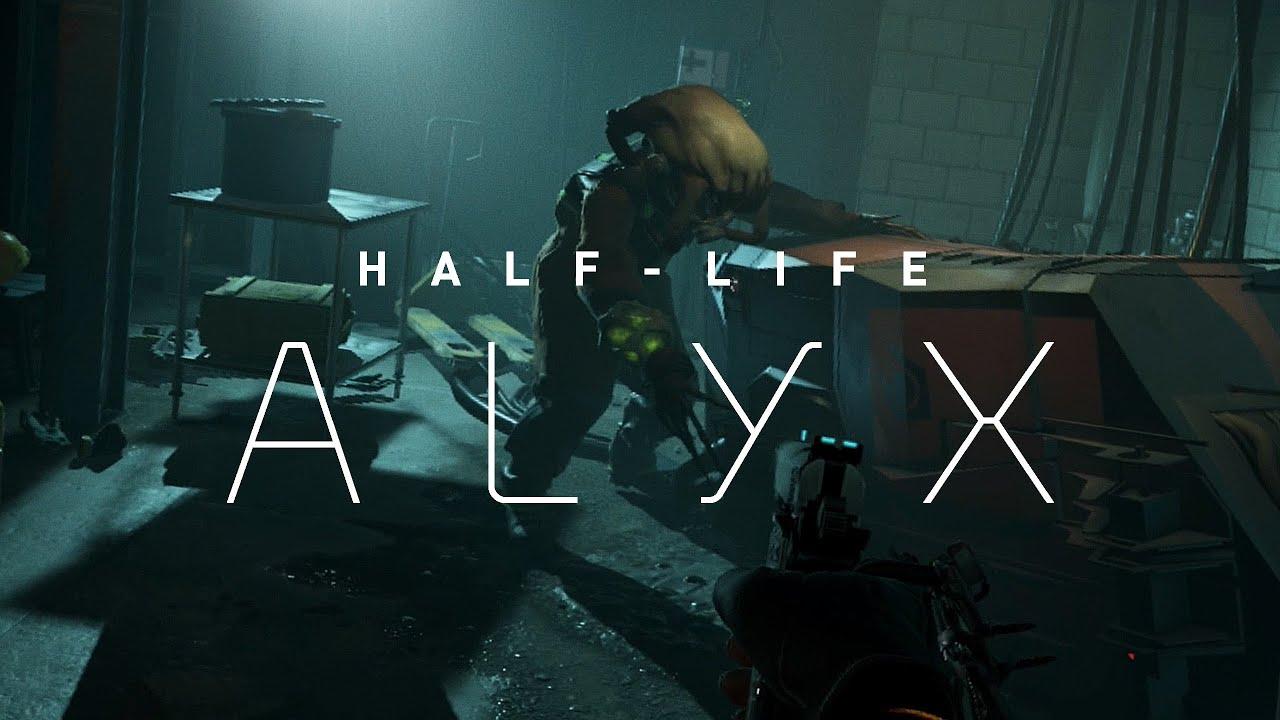Стартовала предзагрузка Half-Life: Alyx