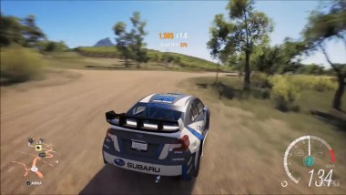 Subaru WRX Rally Car - Forza Horizon 3 - Тест-драйв Геймплей (HD)