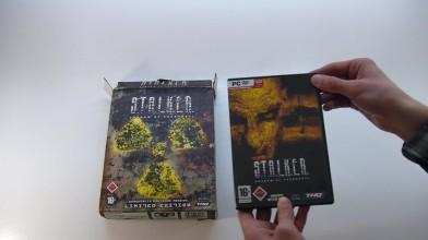 Распаковка радиоактивного коллекционного издания Stalker тень чернобыля из германии