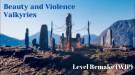 Демонстрация открытого мира из Beauty & Violence: Valkyries