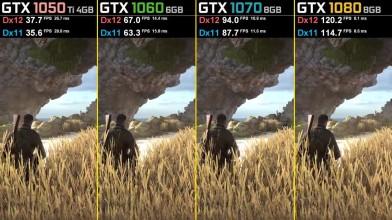 Sniper Elite 4 Dx11 vs. Dx12 - GTX 1050 Ti - GTX 1060 - GTX 1070 - GTX 1080