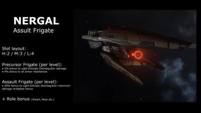 EVE Online - Статы и анимации новых T2 кораблей Триглав