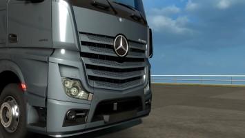 "ETS 2 ""Демонстрация Mercedes-Benz Actros 2014"""