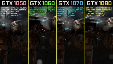 Splinter Cell: Blacklist GTX 1050 Ti vs. GTX 1060 vs. GTX 1070 vs. GTX 1080