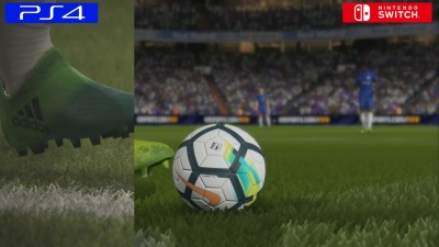 Сравнение FIFA 18: PS4 vs. Switch vs. PS3