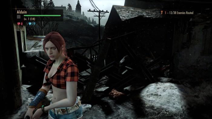 "Resident Evil: Revelations 2 ""Костюм Клэр ""Родео"" без шляпы"""