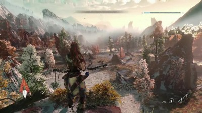 PlayStationPGW: Новый Геймплей Horizon: Zero Dawn