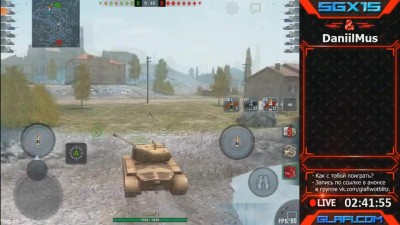 WoT Blitz Мастер и Колобанов на Pershing - World of Tanks Blitz Pershing