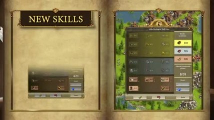 "The Settlers Online ""Epic Raids and Science System трейлер"""