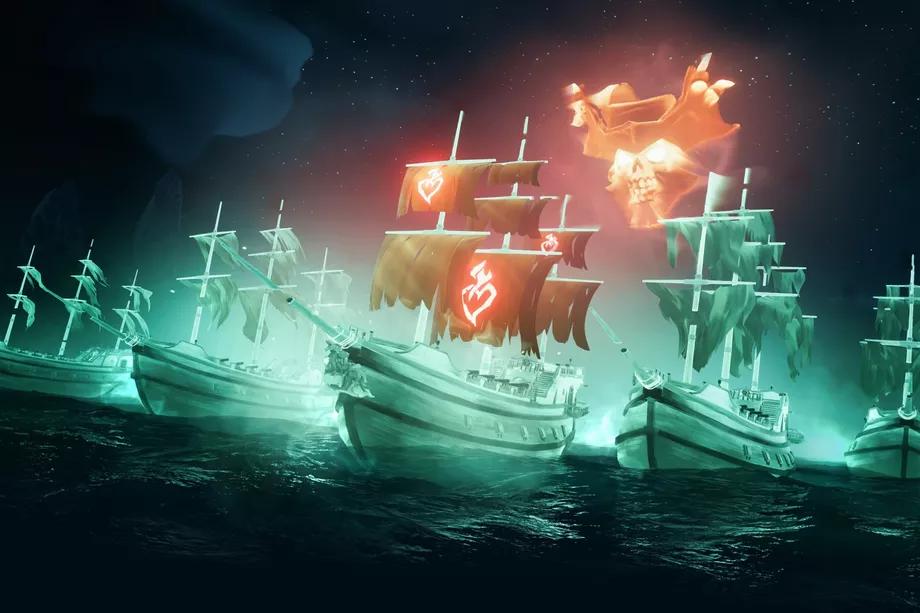 Обновление для Sea of Thieves приносит корабли-призраки, новое оружие и награды