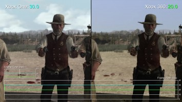 Red Dead Redemption Xbox One/Xbox 360 Частота кадров (DigitalFoundry)