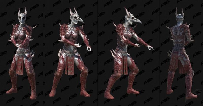 Diablo 2 Resurrected: датамайн 3-D моделей игры