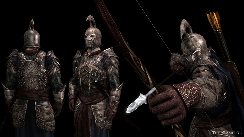 Моды на скайрим властелин колец броня