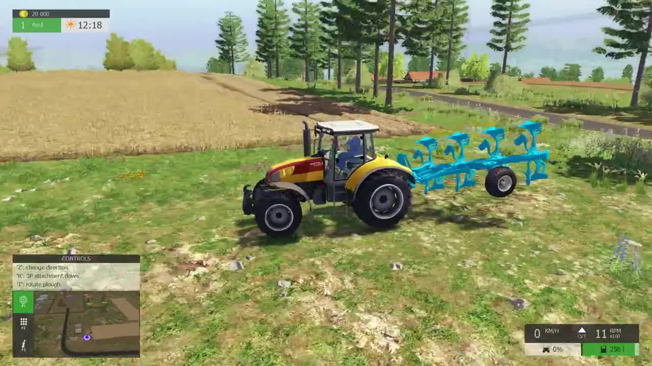 Farming simulator 17 (2016) скачать через торрент игру.