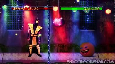 Надоедливый апельсин против игры : Mortal Kombat #1