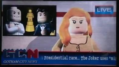 "LEGO Batman 2 ""Theatrical Pursuits gameplay clip"""