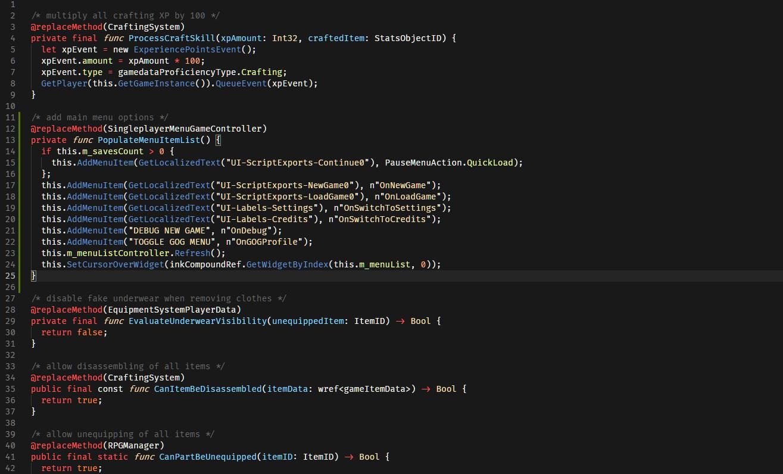 Cyberpunk 2077 Компилятор скриптов Redscript