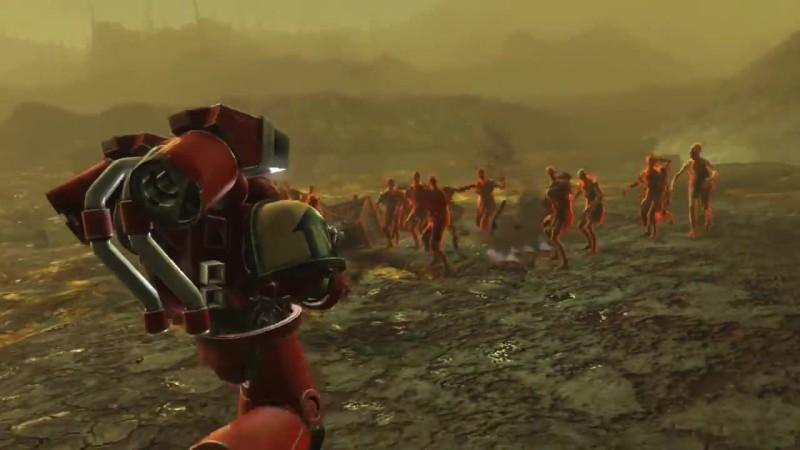 Fallout 4 мод Космодесант
