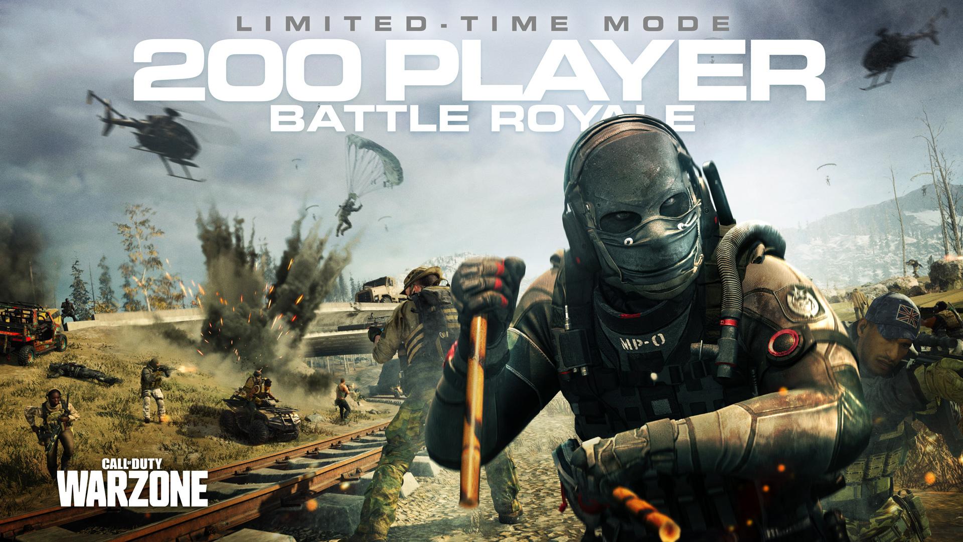 В 4 сезоне Call of Duty: Modern Warfare появится временный режим на 200 игроков