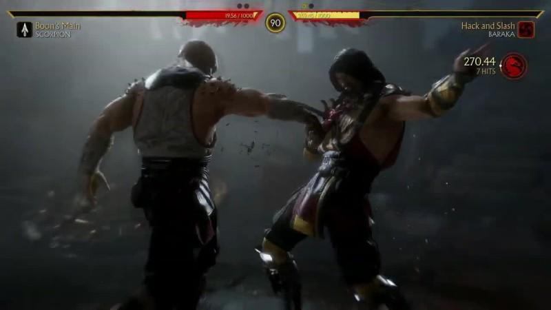 Полная версия показа геймплея Mortal Kombat 11