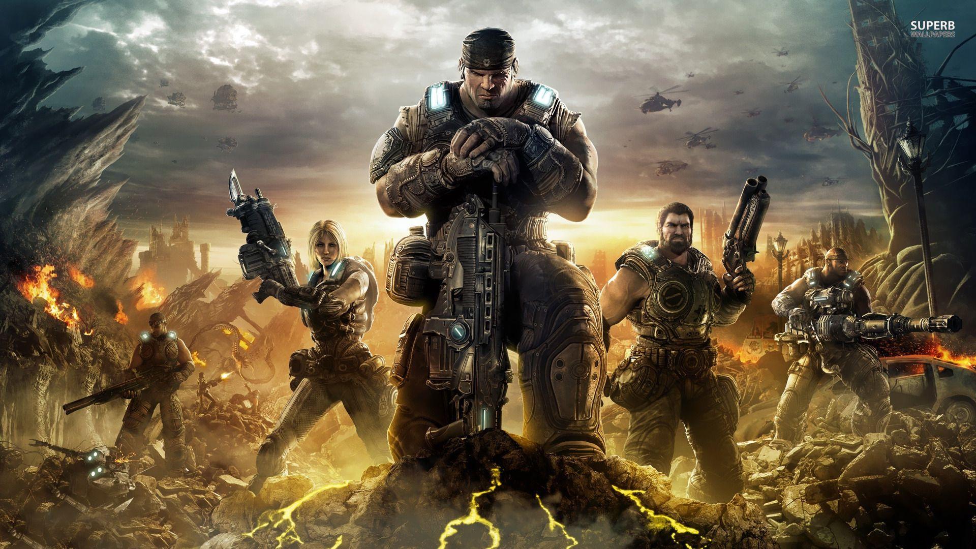 Gears of War 3 и Gears of War Judgement стали полностью играбельными на эмуляторе Xenia Xbox 360