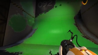 Демонстрация мода Desolation для Portal 2