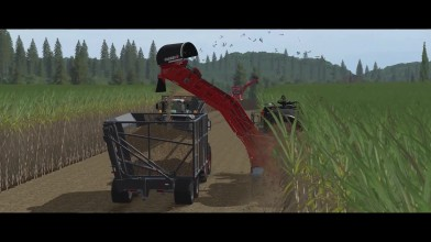 Farming Simulator 17 - Сбор сахарного тростника