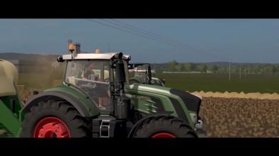 Farming Simulator 17 - Fendt 939 Vario с короной BigPack 1290 HDP XC (Фан трейлер)