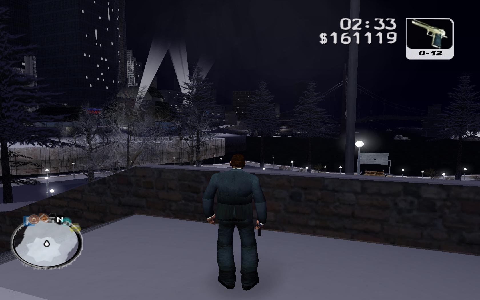 Grand theft auto 3 frosted winter для gta 3.