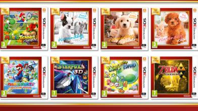 """Избранные игры для Nintendo 3DS присоединятся к программе """"Nintendo Select"""""""