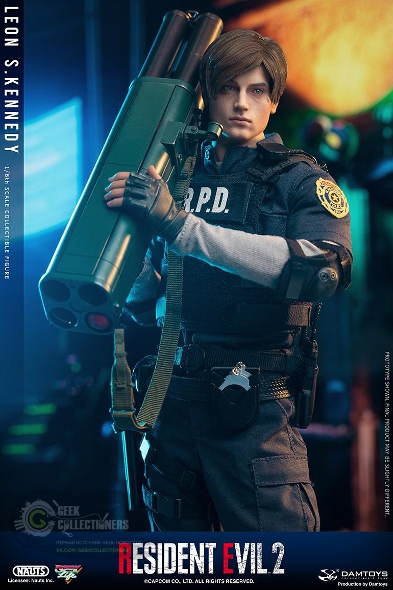 Анонсирована фигурка Леона из Resident Evil 2 Remake
