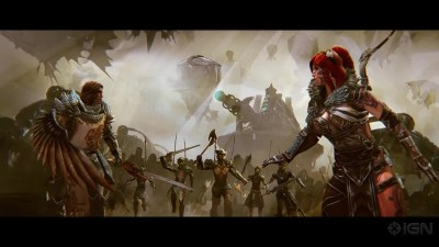 "Guild Wars 2: Heart of Thorns ""Pact Fleet Destruction Opening Cinematic"""