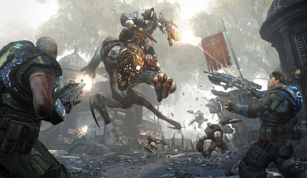скачать игру Gears Of War 4 скачать торрент - фото 9
