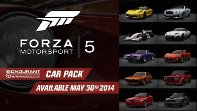 "Forza Motorsport 5 ""Трейлер Bondurant Car Pack"""
