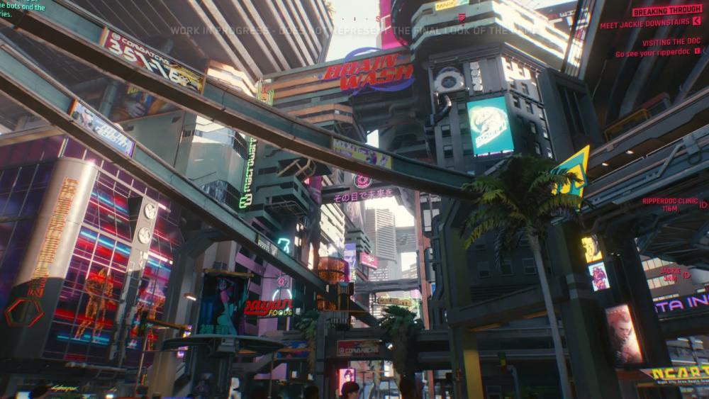 CD Project Red ищет художника по внутриигровой рекламе в Cyberpunk 2077