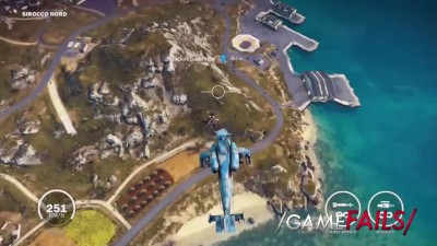 That's Hot - Just Cause 3 (Fail) - GameFails