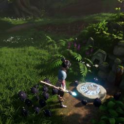 Более 50 минут геймплея и скриншоты Kena: Bridge of Spirits