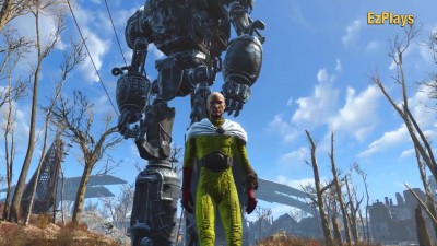 "Fallout 4 ""ONE-PUNCH MAN против LIBERTY PRIME"""
