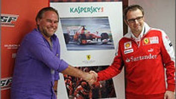 Лаборатория Касперского - партнёр команды Scuderia Ferrari